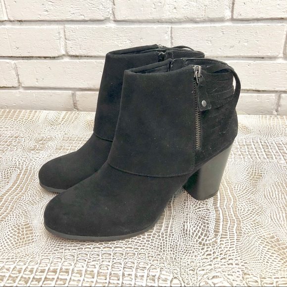 a30e65ea10cb Madden Girl Women s Black Destroy Ankle Bootie